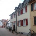 Das Haus in der Brückenkopfstraße 8 in Heidelberg-Neuenheim